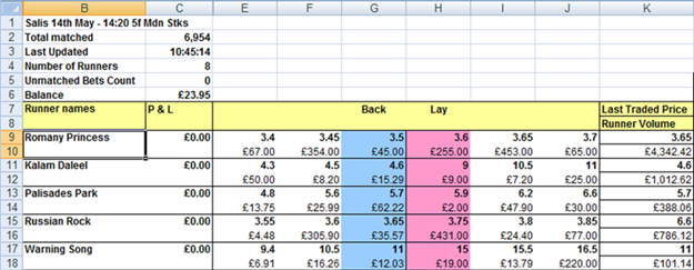 how to make a sports betting spreadsheet