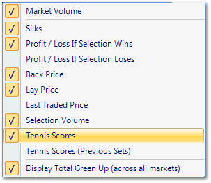 Topic: Live scores on Tennis trader